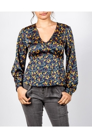All In Favor Blossom Silk Blouse - Product Mini Image