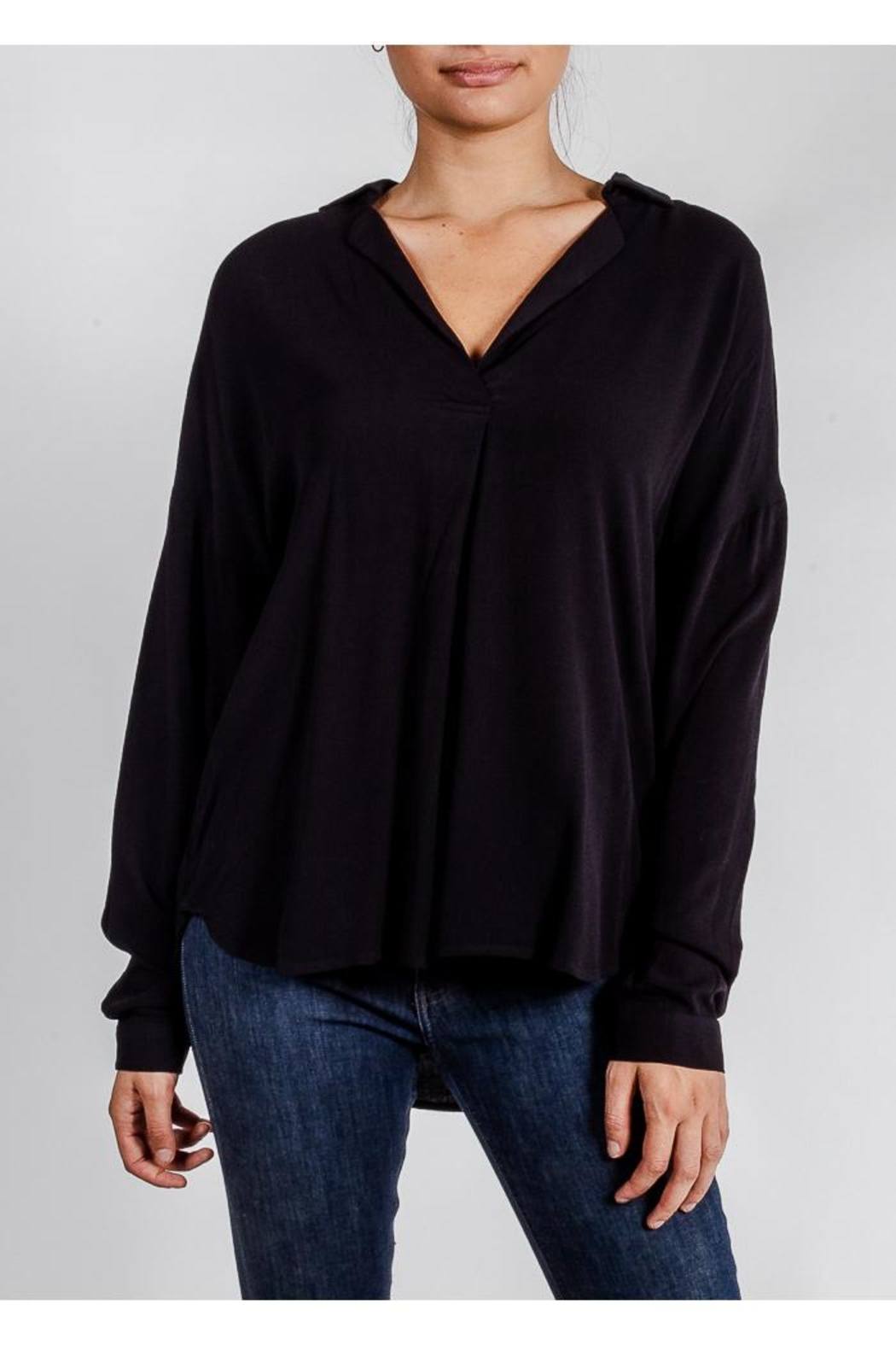 All In Favor Breezy Chic Blouse - Main Image