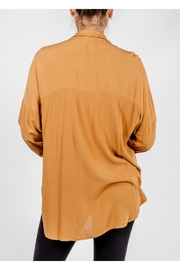 All In Favor Breezy Chic Blouse - Back cropped