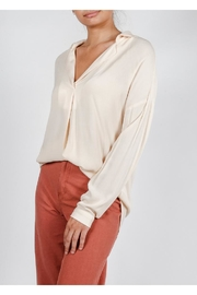 All In Favor Breezy Chic Blouse - Front cropped