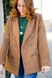 All In Favor Crazy Studious Blazer - Side cropped