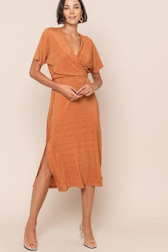 Shoptiques Product: Crossover Midi Dress