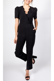 All In Favor Dahlia Vintage-Inspired Jumpsuit - Front cropped