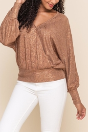 All In Favor Disco Dancing Top - Back cropped