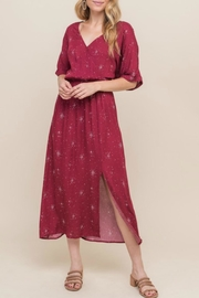 All In Favor Emma Midi Dress - Front cropped