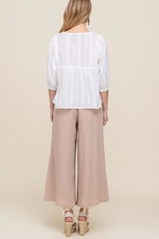 All In Favor Eyelet Balloon-Sleeve Top - Other