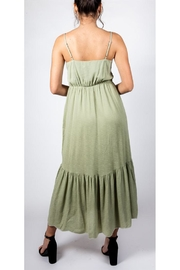All In Favor Sage Emnbroidered Dress - Other