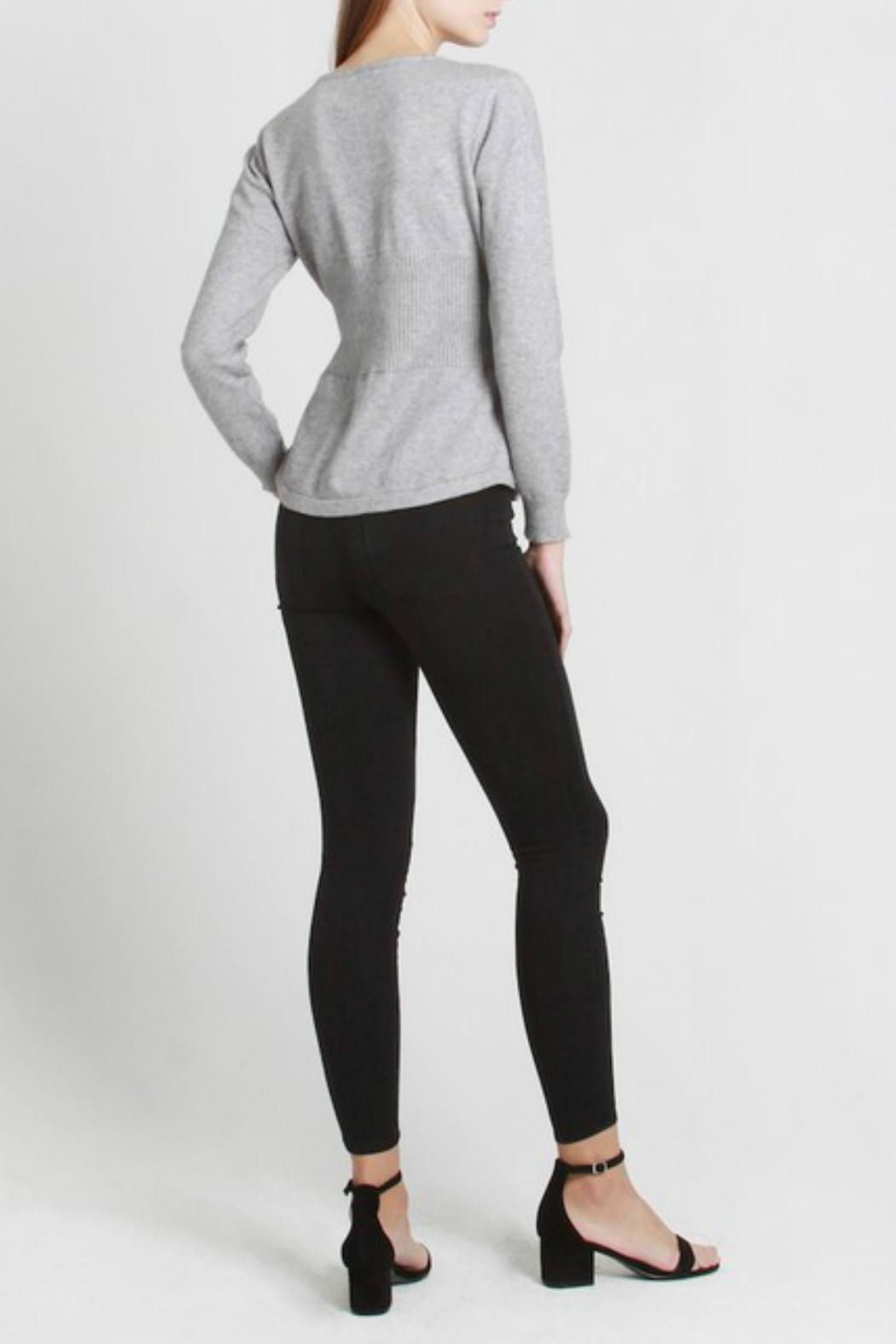 All Row Darla Corset Sweater - Front Full Image