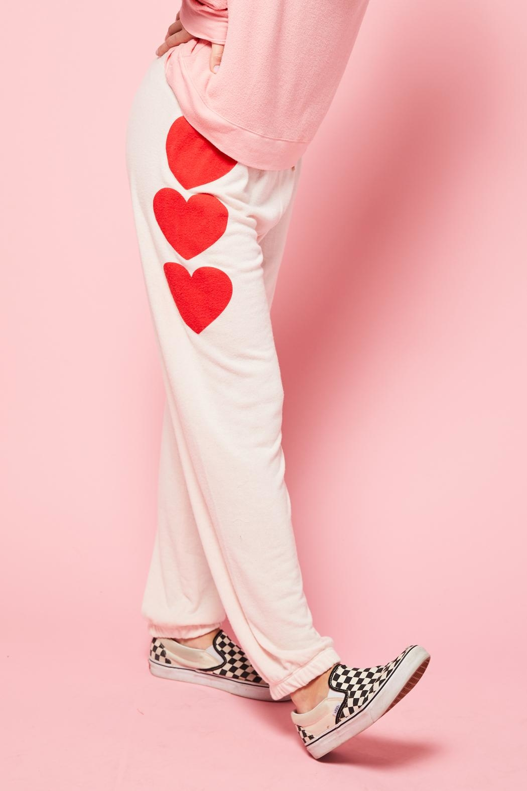 All Things Fabulous 3 Heart Sweats - Front Full Image