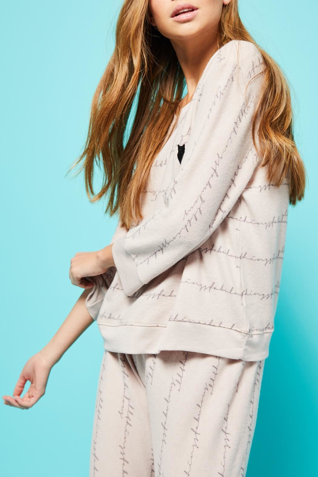 All Things Fabulous Atf Cozy Sweater - Front Full Image
