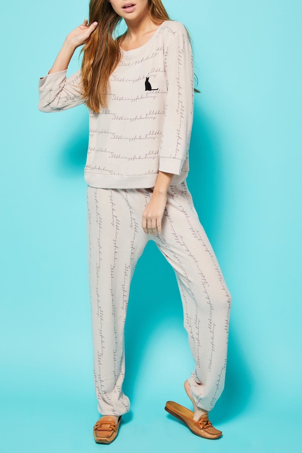 All Things Fabulous Atf Cozy Sweater - Side Cropped Image