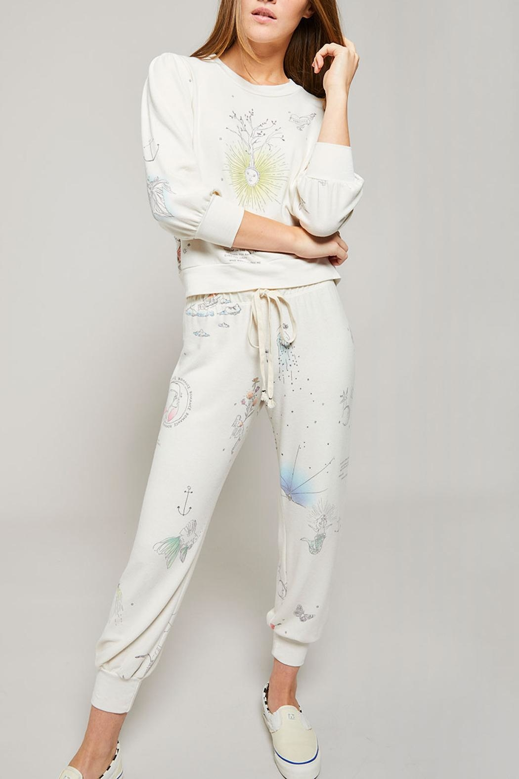 All Things Fabulous Catalina Cozy Sweats - Front Cropped Image