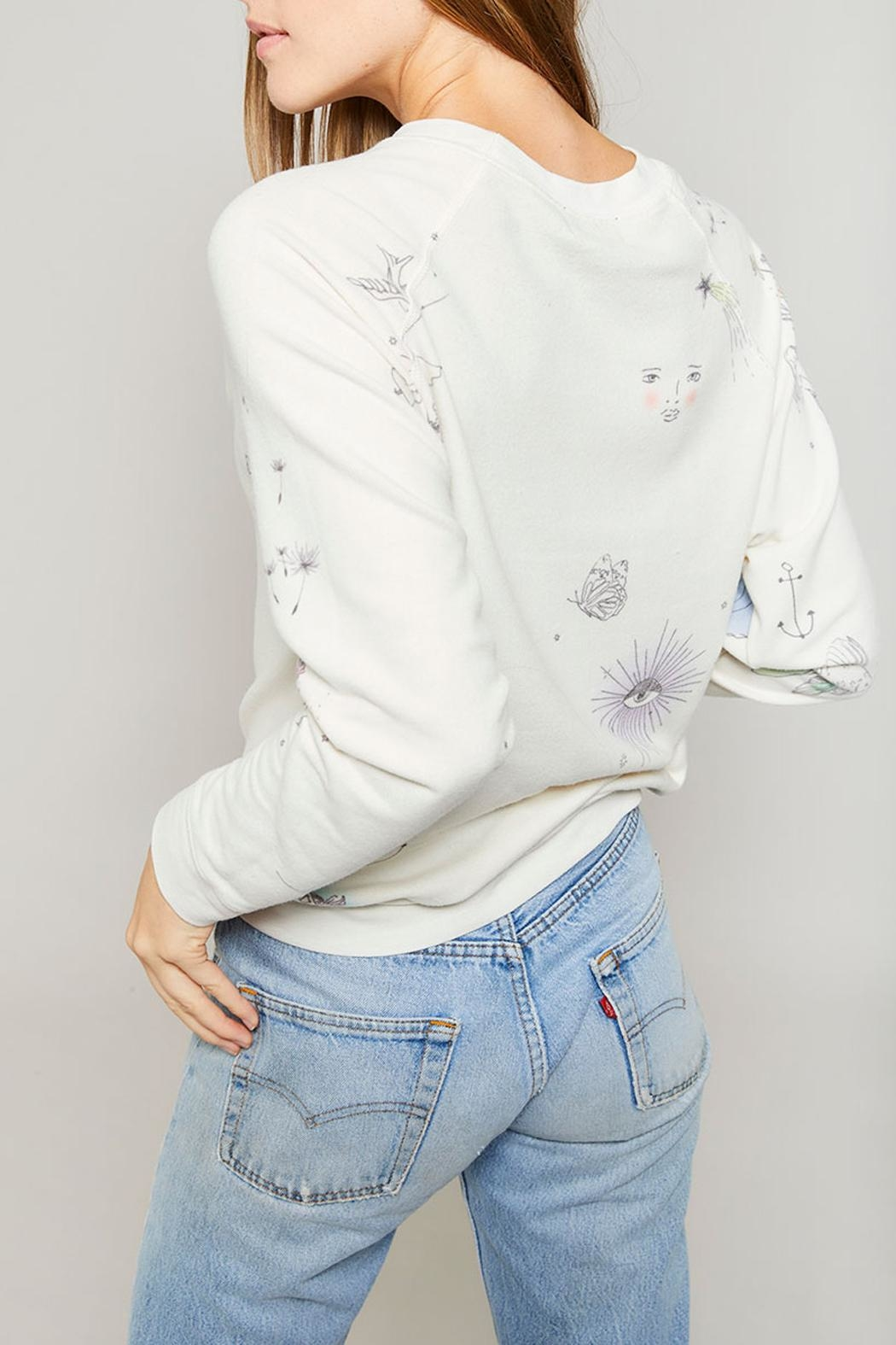 All Things Fabulous Catalina Raglan Sweater - Side Cropped Image