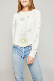 All Things Fabulous Catalina Raglan Sweater - Front cropped