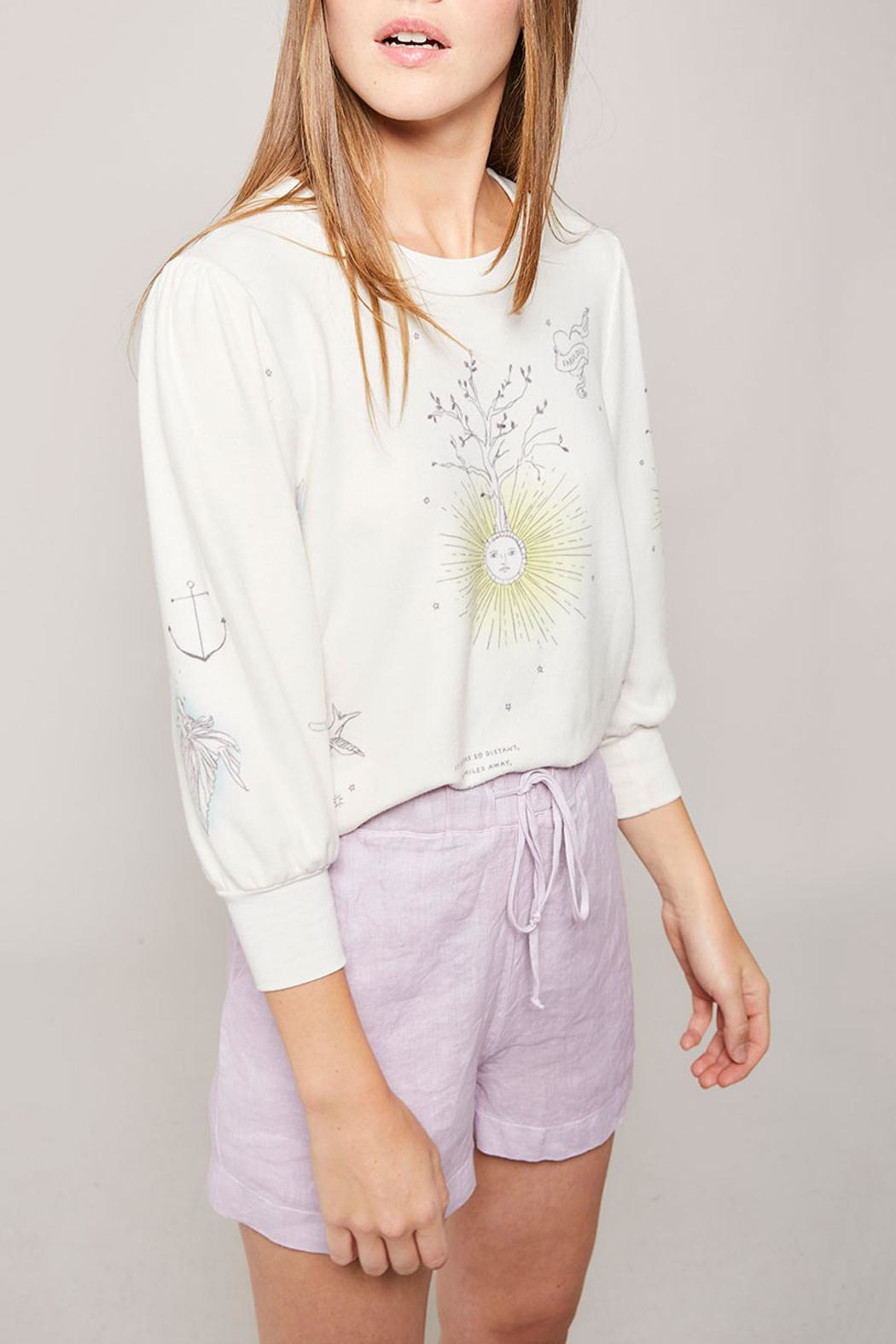All Things Fabulous Catalina Spring Top - Front Full Image