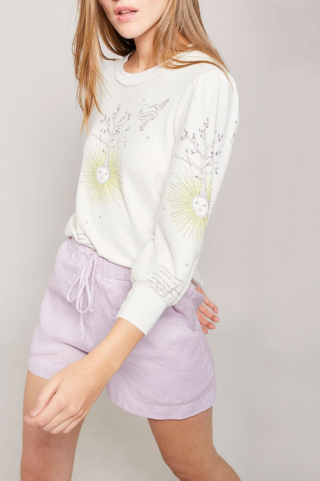All Things Fabulous Catalina Spring Top - Side Cropped Image