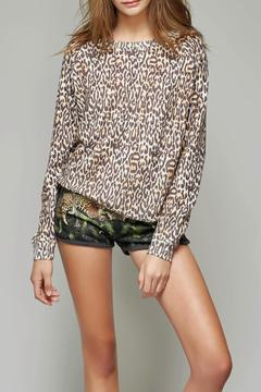 All Things Fabulous Cheetah Print Cozy Sweater - Product List Image
