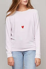 All Things Fabulous Cozy Heart Sweater - Product Mini Image