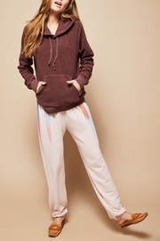 All Things Fabulous Feathers Sweats - Front cropped