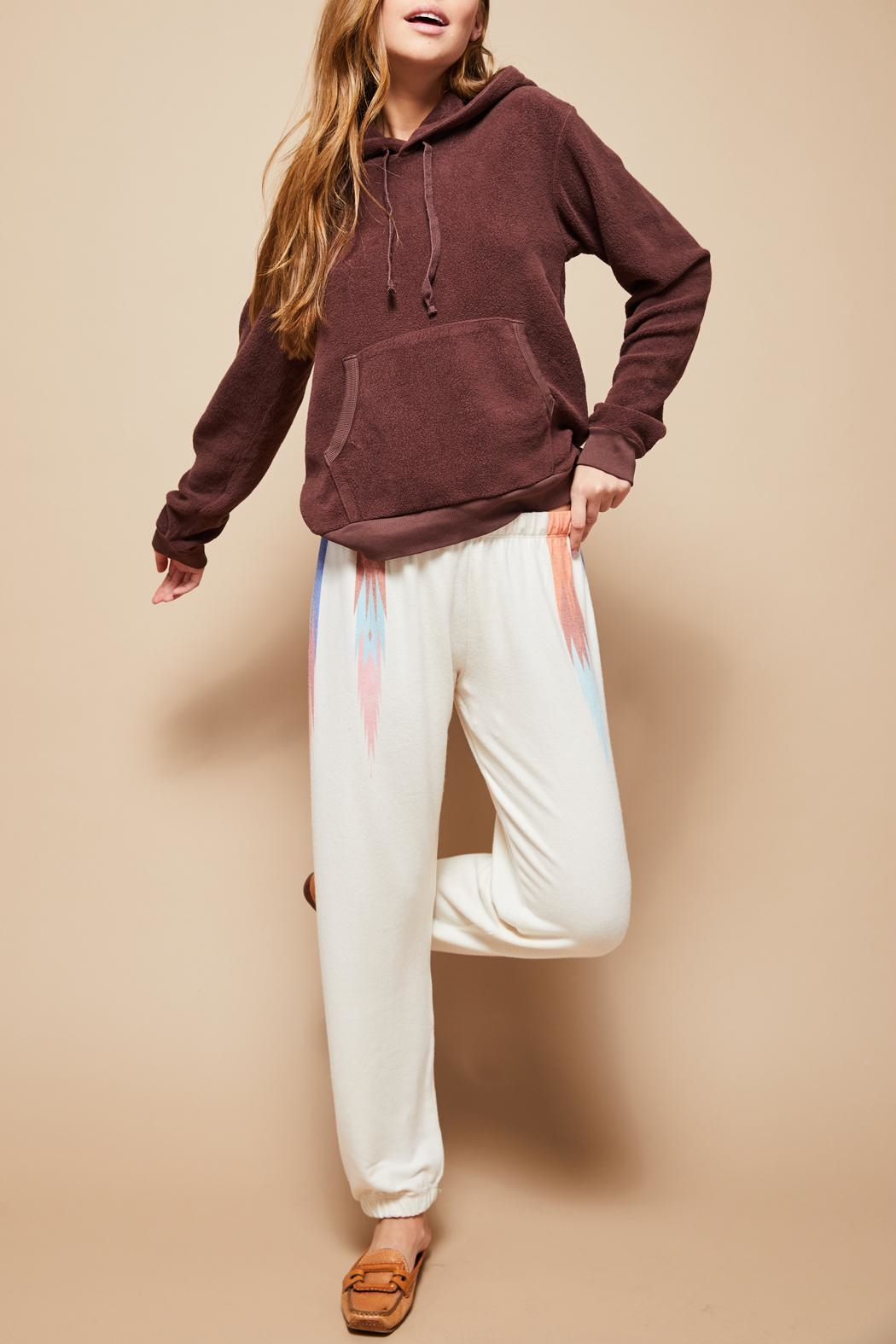 All Things Fabulous Feathers Sweats - Side Cropped Image