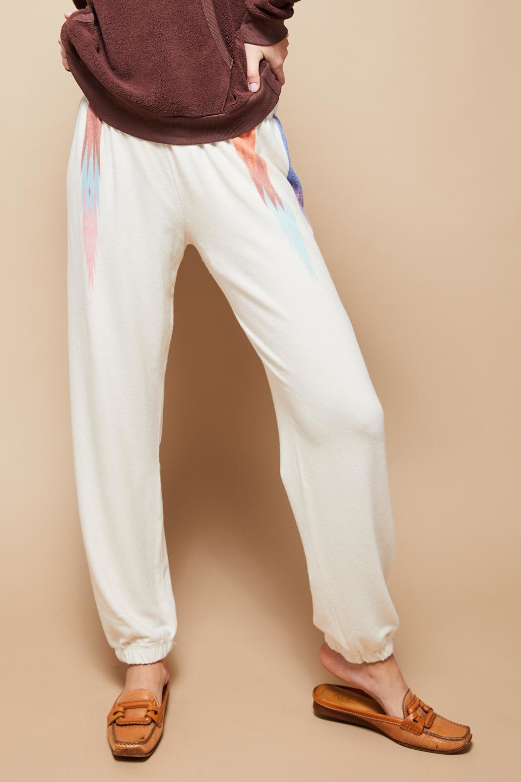 All Things Fabulous Feathers Sweats - Front Full Image