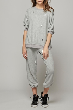 All Things Fabulous Foil Roomy Sweater - Product List Image