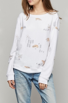All Things Fabulous Fox & Wolf Jumper - Product List Image