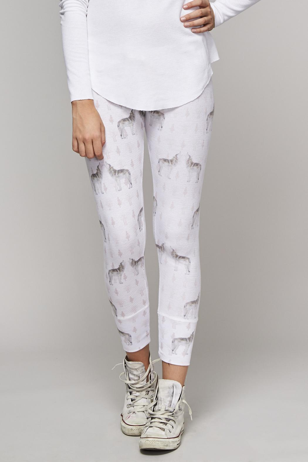 All Things Fabulous Good Wolf Pants - Front Full Image