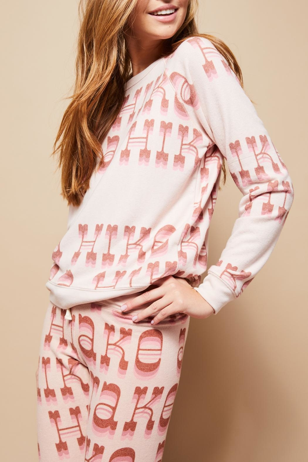 All Things Fabulous Hike Cozy Sweater - Front Cropped Image