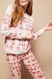 All Things Fabulous Hike Cozy Sweater - Front full body