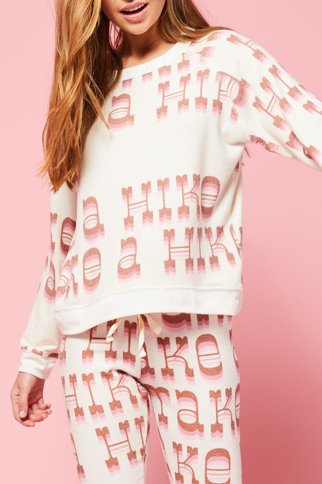 All Things Fabulous Hike Cozy Sweater - Front Full Image