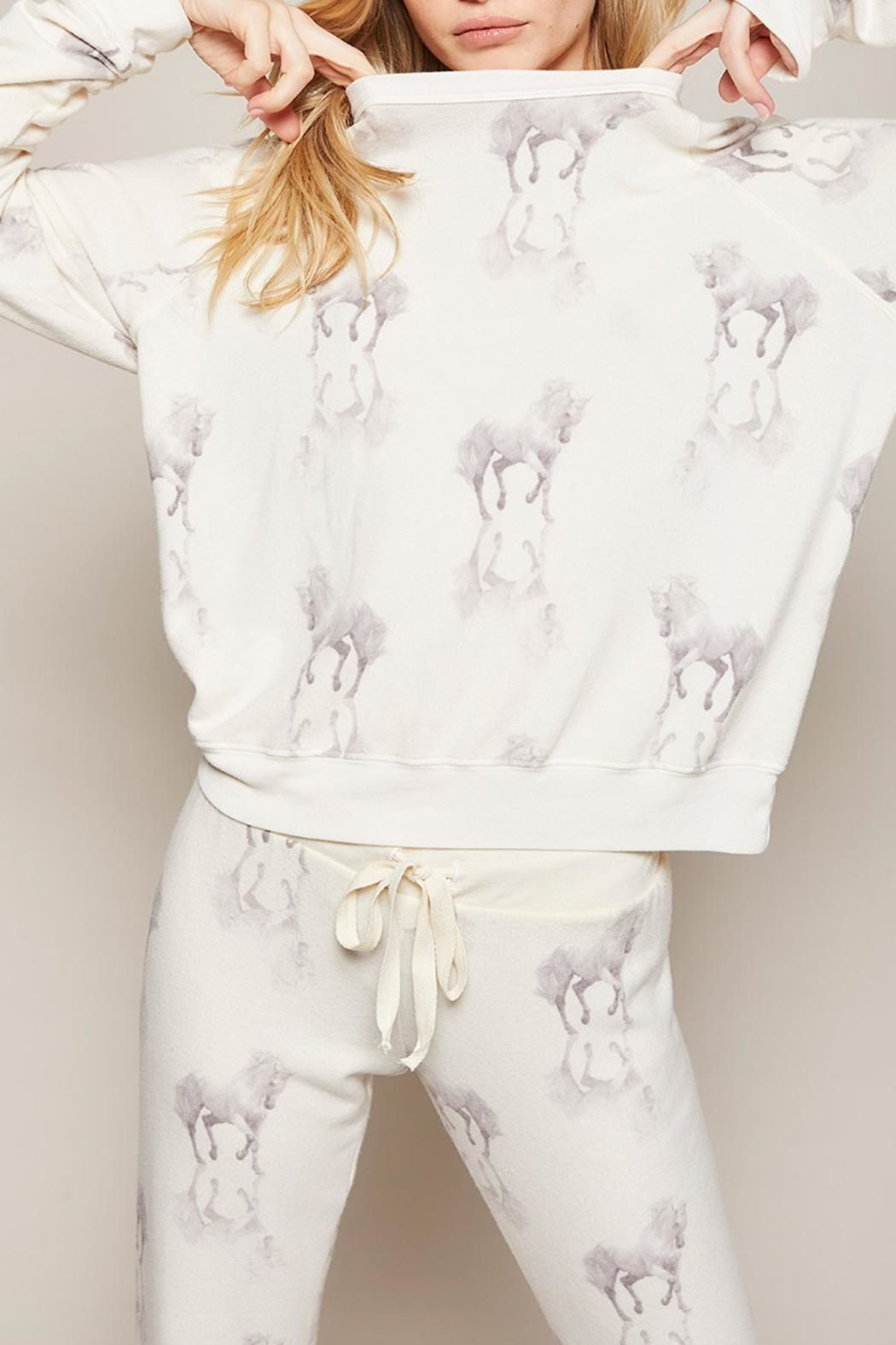 All Things Fabulous Horses Cozy Jumper - Front Full Image