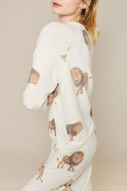 All Things Fabulous Lions Cozy Jumper - Front full body