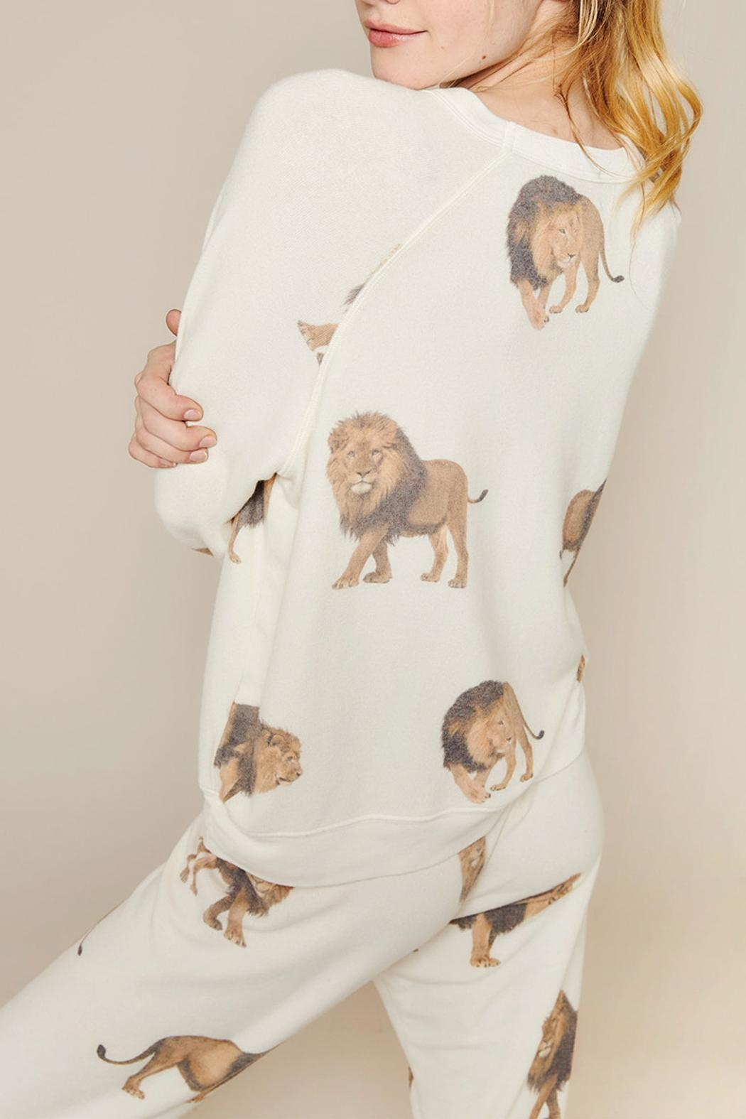 All Things Fabulous Lions Cozy Jumper - Side Cropped Image