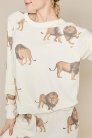 All Things Fabulous Lions Cozy Jumper - Product Mini Image