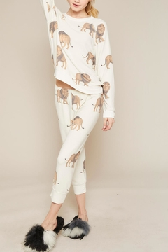 All Things Fabulous Lions Cropped Sweats - Alternate List Image