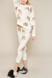 All Things Fabulous Lions Cropped Sweats - Side cropped