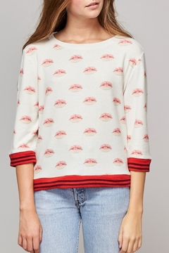 Shoptiques Product: Lips Print Sweater