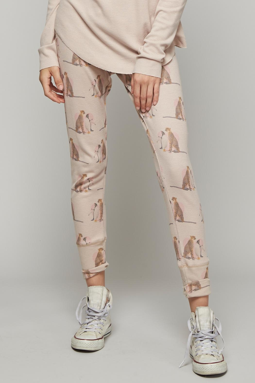 All Things Fabulous Lovers Thermal Pants - Side Cropped Image
