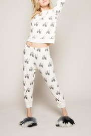 All Things Fabulous Panda Cropped Sweats - Product Mini Image