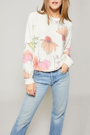 All Things Fabulous Poppies Raglan Sweater - Product Mini Image