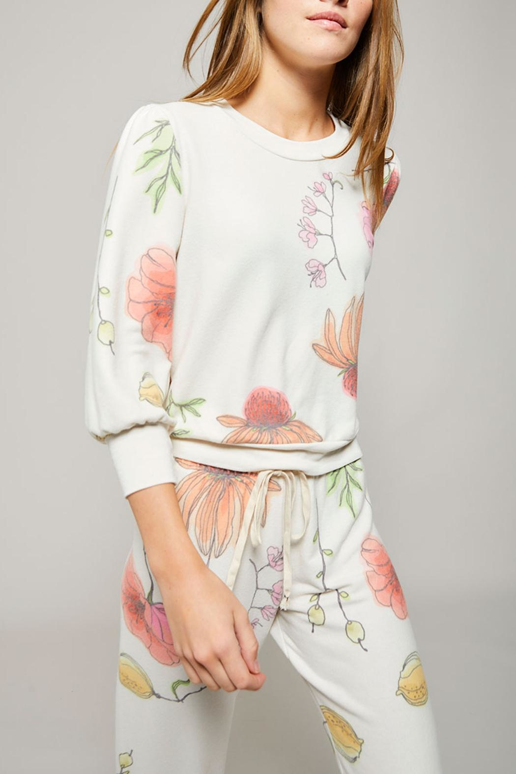 All Things Fabulous Poppies Spring Top - Main Image