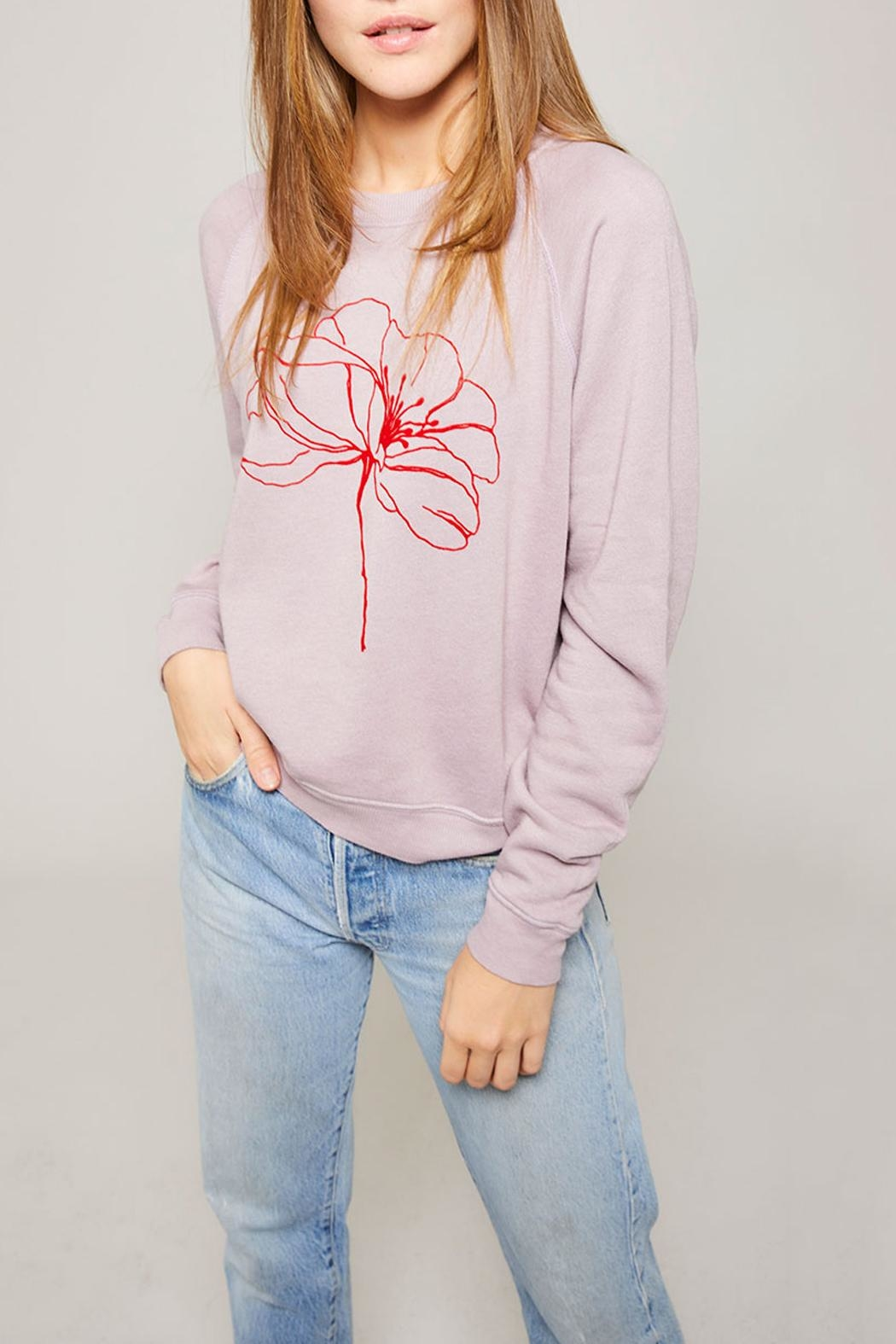 All Things Fabulous Poppy Favorite Sweatshirt - Front Cropped Image