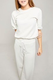 All Things Fabulous Puff Sleeve Sweatshirt - Front full body