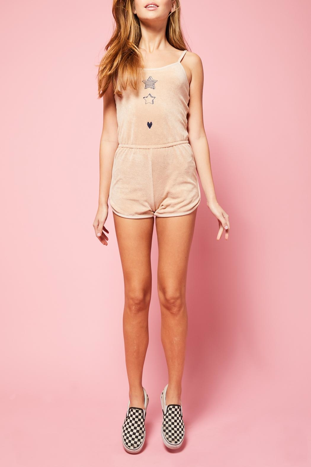 All Things Fabulous Romper - Side Cropped Image