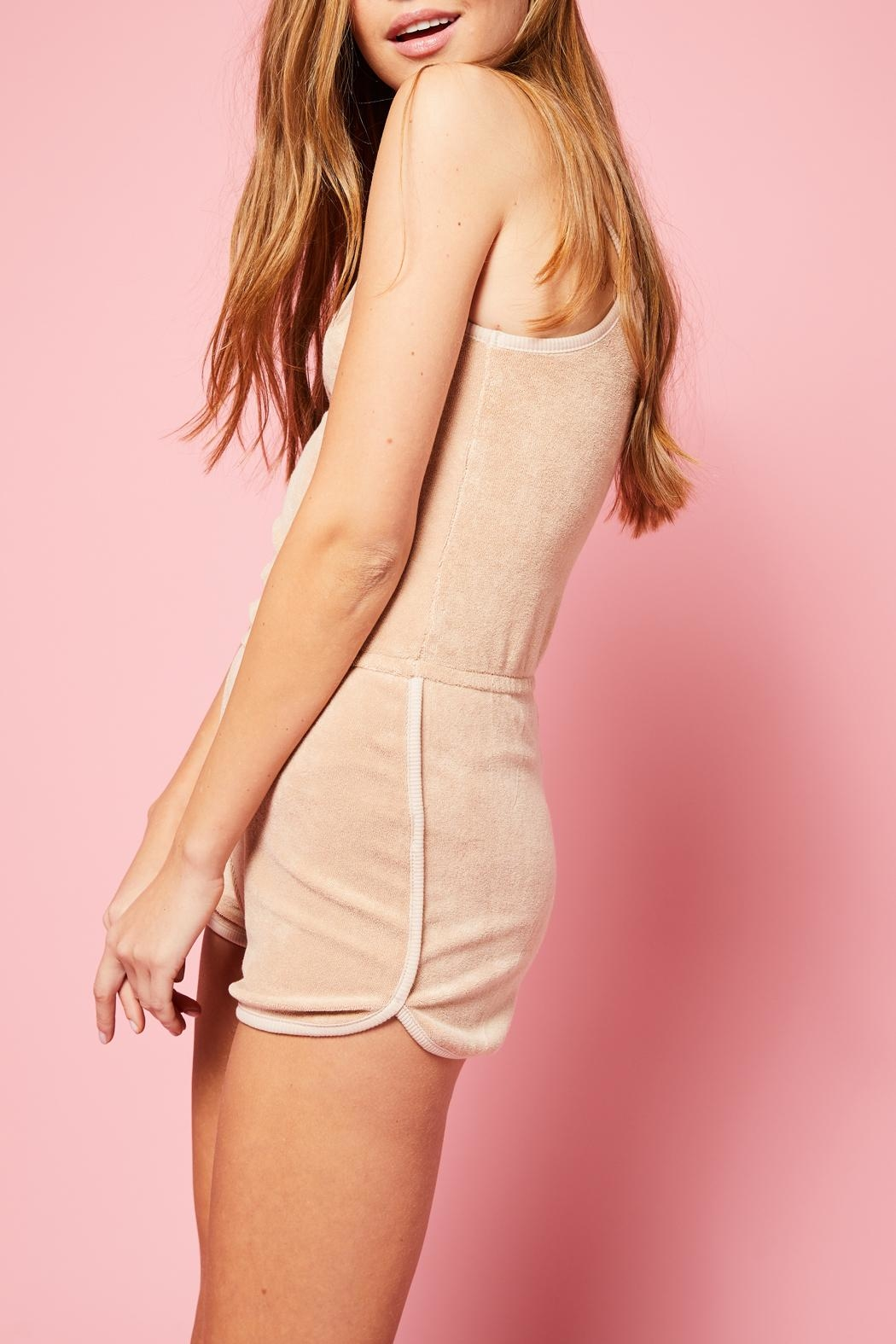 All Things Fabulous Romper - Back Cropped Image
