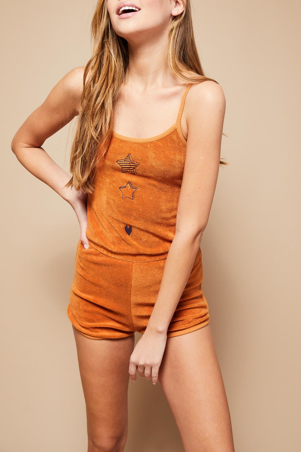 All Things Fabulous Romper - Front Full Image