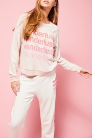 All Things Fabulous Wanderlust Cozy Sweater - Product Mini Image