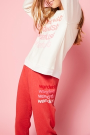 All Things Fabulous Wanderlust Sweats - Product Mini Image