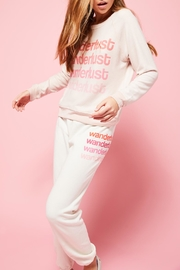 All Things Fabulous Wanderlust Sweats - Front cropped